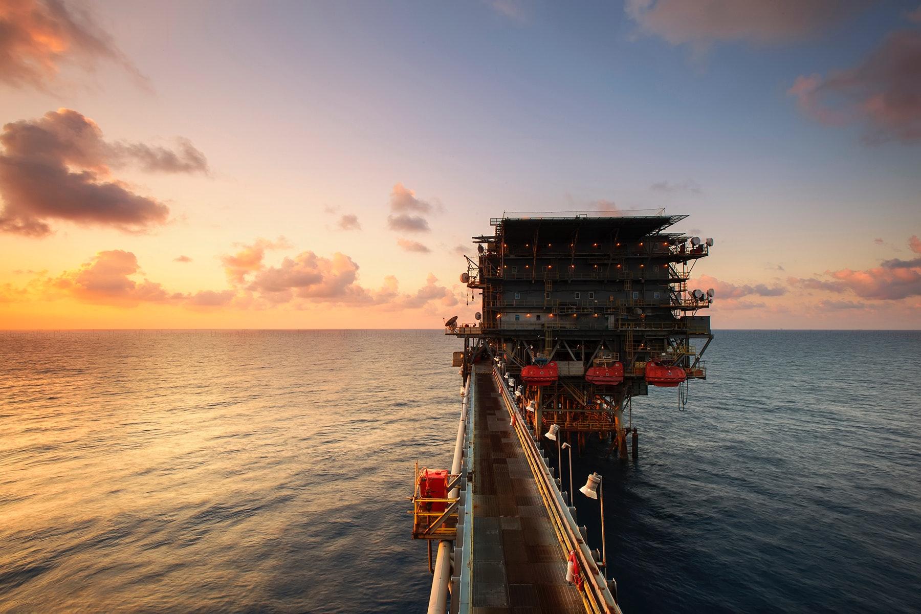 Oil-drilling-zone