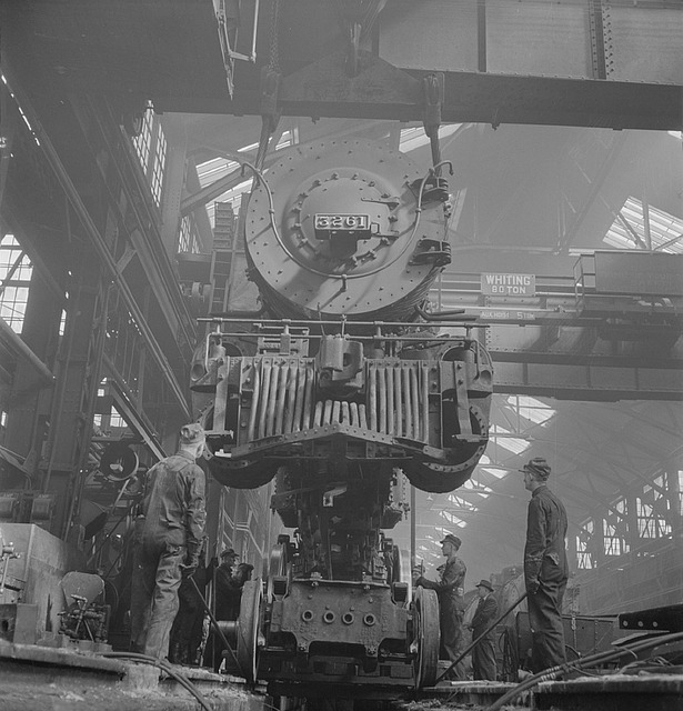 locomotive maintenance